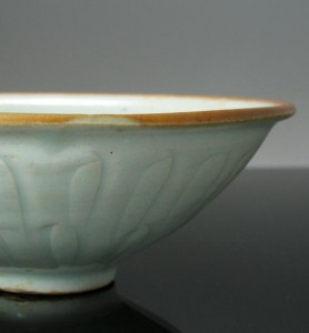 Qingbai Bowl Rim Dressing, Song Dyansty