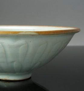 Qingbai Bowl Rim Dressing, Song Dyansty