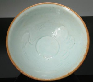 Interior Drawing Qingbai Bowl, Song Dynasty