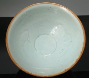 Interior Drawing Qingbai Bowl, Song Dynasty