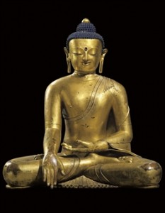 Record Price Tibetan Buddha, Christies'