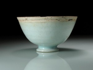 Fine Qinbai Glazed Cup, Song Dynasty